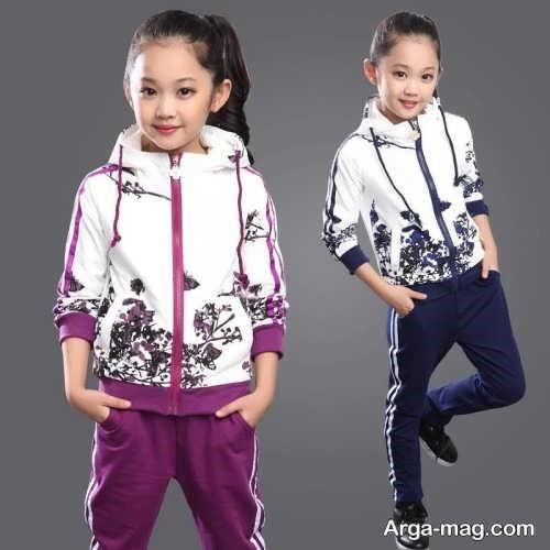 لباس ورزشی دخترانه